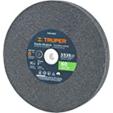"""TRUPER PIES-8160 8"""" Aluminum Oxide Bench Grinding Wheels. Grit=60, Thickness=1"""", Arbor=1"""". 1 Pack"""