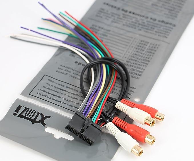 Marvelous Amazon Com Xtenzi Radio Wire Harness Compatible With Jensen 20Pin Wiring Database Rimengelartorg
