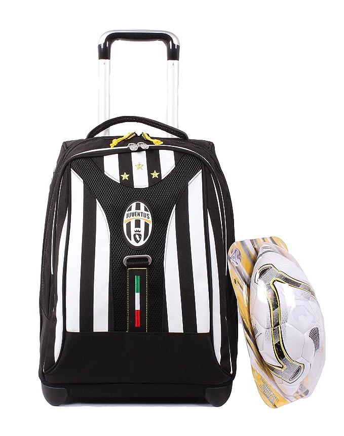 TROLLEY balón de fútbol JUVENTUS Turin-blanco y negro-Tirantes ...
