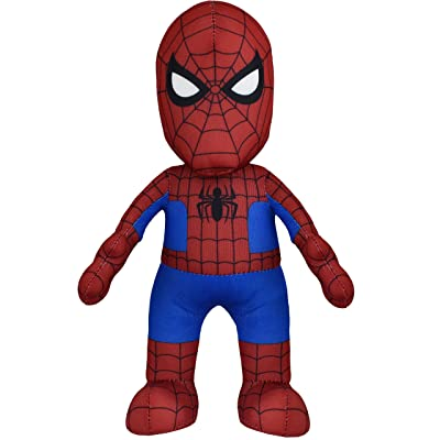 "Bleacher Creatures Marvel Spiderman 10"" Plush Figure - A Superhero for Play and Display: Toys & Games"