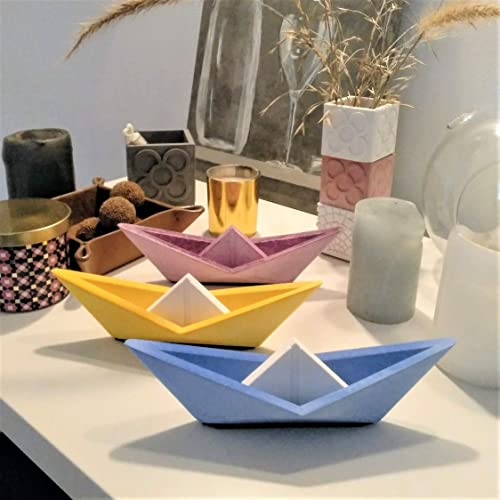 Grand Voilier De Style Origami Personnalisable Yumilab Bateau Voilier Couleur De Voile Et Voilier Personnalisables Design Exclusif Amazon Fr Handmade