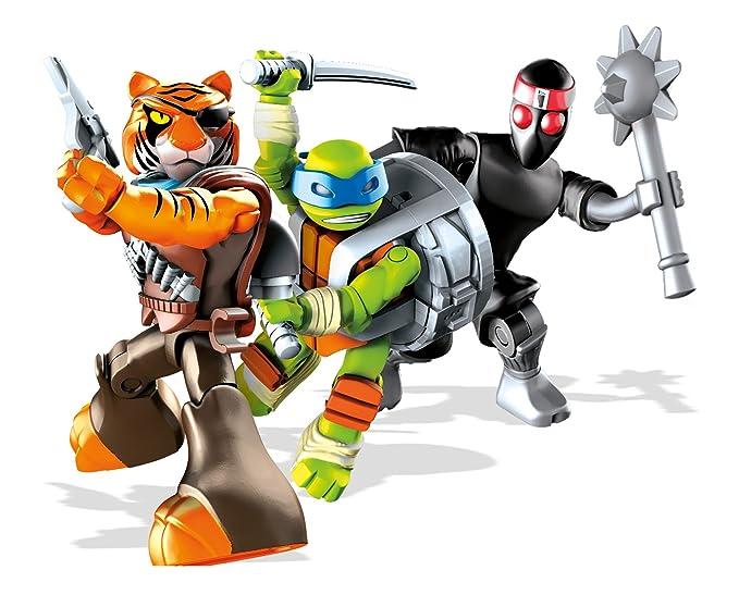 Mega Bloks - Guarida de alcantarillas, Tortugas Ninja, Juego de construcción (Mattel DMX55)