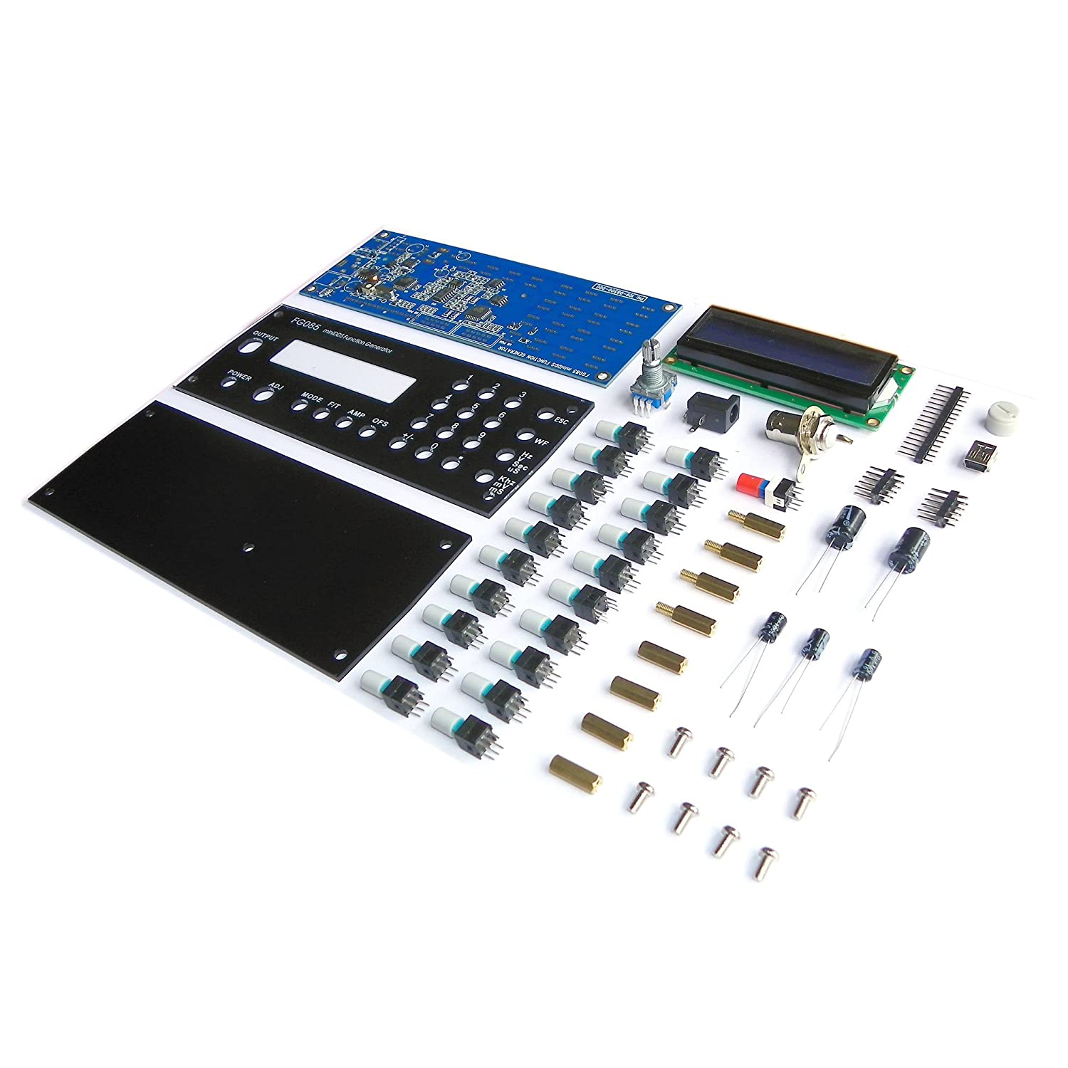 Function Generator Diy Kit By Jye Tech Fg085 Signal Simple 15v Square Wave Industrial Scientific