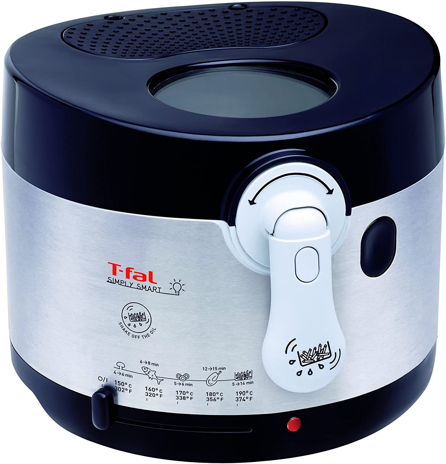 T-fal Simply Smart 2.65-Pound Cool Touch Deep Fryer