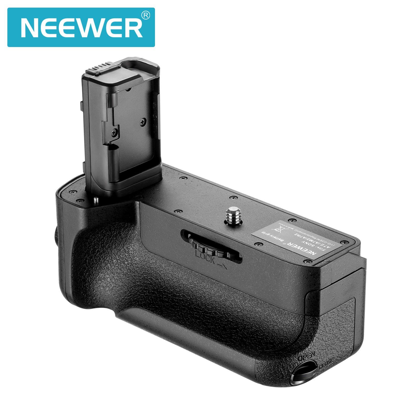 Neewer Vertical Bater/ía Grip Reemplazo de VG-C2EM Funciona con NP-FW50 Bater/ía para Sony A7 II y A7R II C/ámaras Viene con 3-en-1 Kit de Limpieza