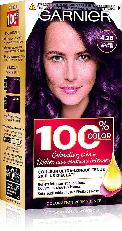 Garnier 100% Color Coloration Permanente 4.26 Violine Intense violet