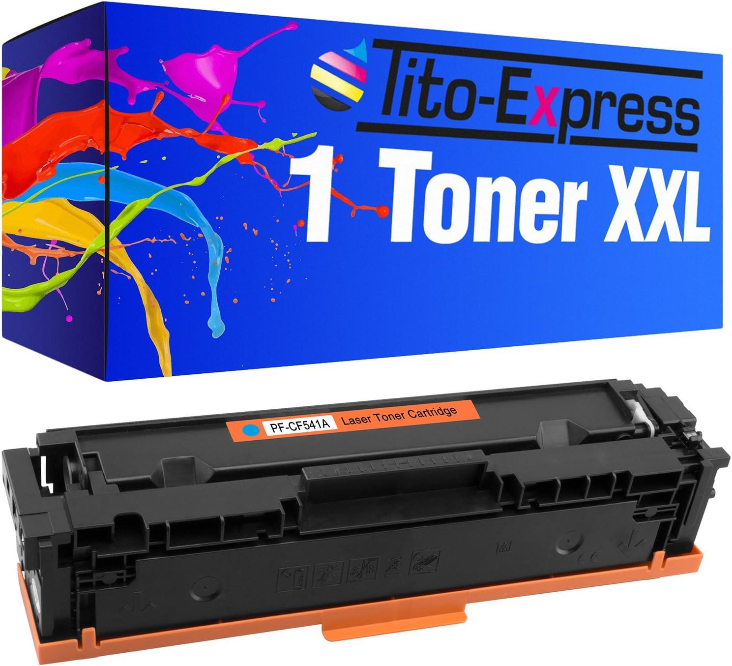 Tito Express Platinumserie Xxl Toner For Hp Cf540a Cf543a Bürobedarf Schreibwaren