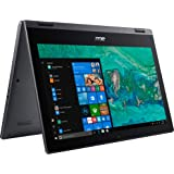 Acer Spin 1 SP111-33 Ultra Slim Touch 2-1 Laptop Intel Processor N4000 4GB 64GB SSD 11.6in HD LED Windows 10 in S Mode…