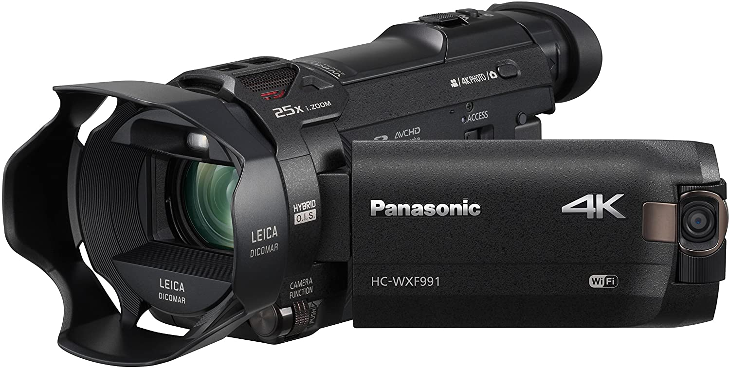 Panasonic HC-WXF991 4K best low light video Camcorder