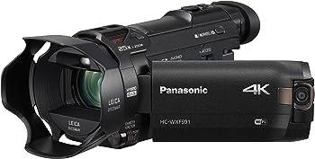Panasonic HC-WXF991 4K UHD Flash Memory SDXC/SDHC/SD Wi-Fi Camcorder