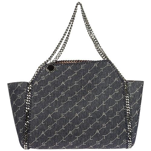 3b20ed875327 Stella Mccartney women Falabella Reversible shoulder bag blu  Amazon.co.uk   Shoes   Bags