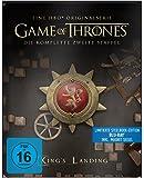 """Game of Thrones - Die komplette 2. Staffel (Steelbook) – mit Magnet """"Siegel Haus Lannister"""" [Blu-ray]"""