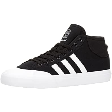 adidas Matchcourt Mid BlackWhiteWhite: : Schuhe