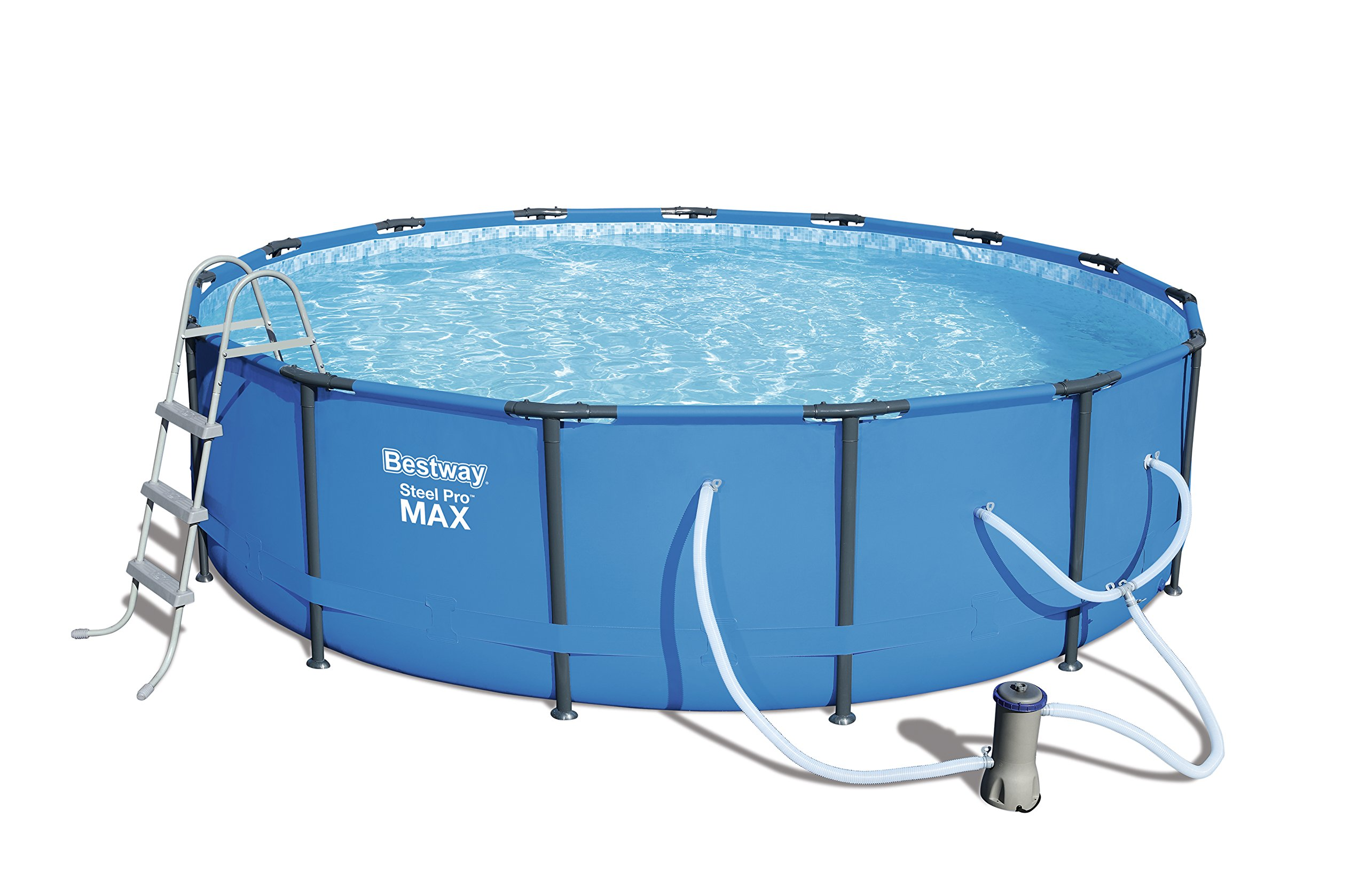 Bestway 56687E Steel Pro MAX 15'x42 Above Ground Pool by Bestway