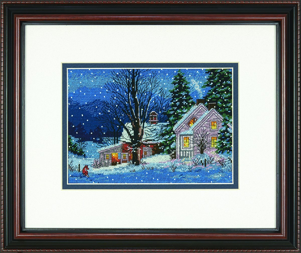 Dimensions Crafts 70-08935 Needlecraft Quiet Night in Counted Cross Stitch IDEAL DESIGN ENTERPRISES CO. LTD