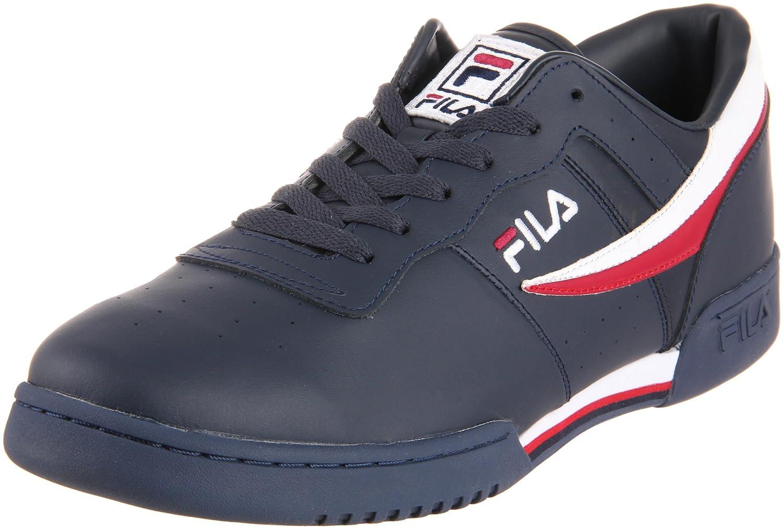 low priced e2dfb 5e7d7 ... Amazon.com Fila Mens Original Fitness Lea Classic Sneaker Fashion  Sneakers ...