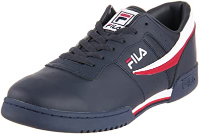 online retailer 9f0d8 b92eb Fila Men s Original Fitness, Navy White Red