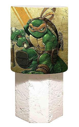 Mesa Tortugas Ninja - Michelangelo: Amazon.es: Iluminación