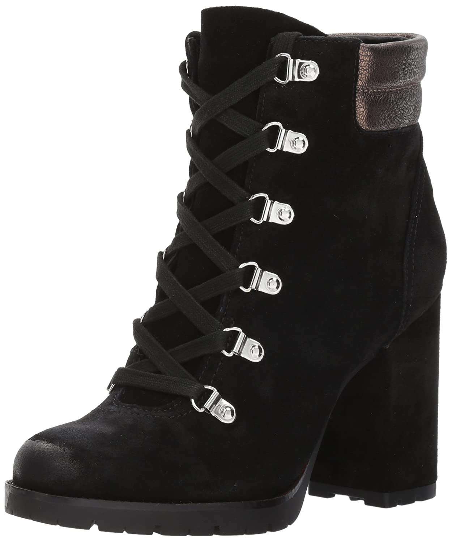 Sam Edelman Women's Carolena Ankle Boot B06XC98T97 9 B(M) US|Black/Pewter