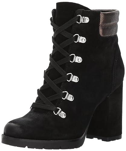 255aa4ba0 Sam Edelman Women s Carolena Ankle Boot Black Pewter 10 Medium US