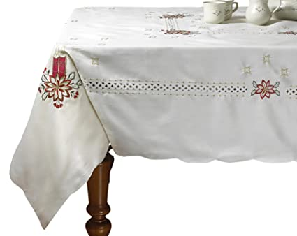 Merveilleux Violet Linen Seasonal 5 Oblong/Rectangle Tablecloths, 70u0026quot; X 105u0026quot;,