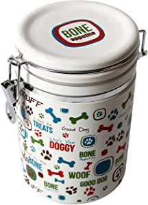 "Pet Supplies : DEI Stoneware Lucky Dog Collection ""Bone"