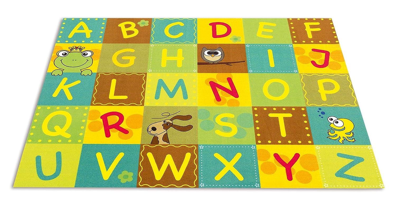 Fröhlicher ABC-Teppich
