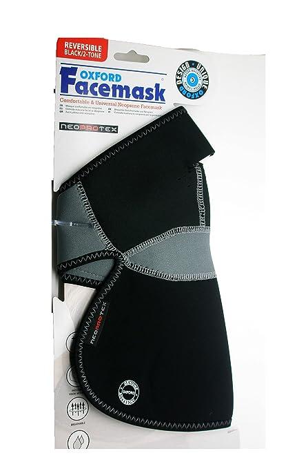 Mascara Facial Profesional Cubre Pecho de Neopreno Reversible Ciclismo Moto 3169: Amazon.es: Deportes y aire libre