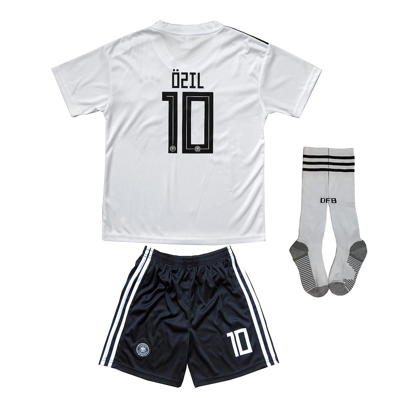Kid Box 2018ドイツMesut Ozil # 10 Home Away Soccer Kids Jersey & Short Socks Setユースサイズ B07BVQQ2LT 7-8 YEARS|ホーム(Home) ホーム(Home) 7-8 YEARS