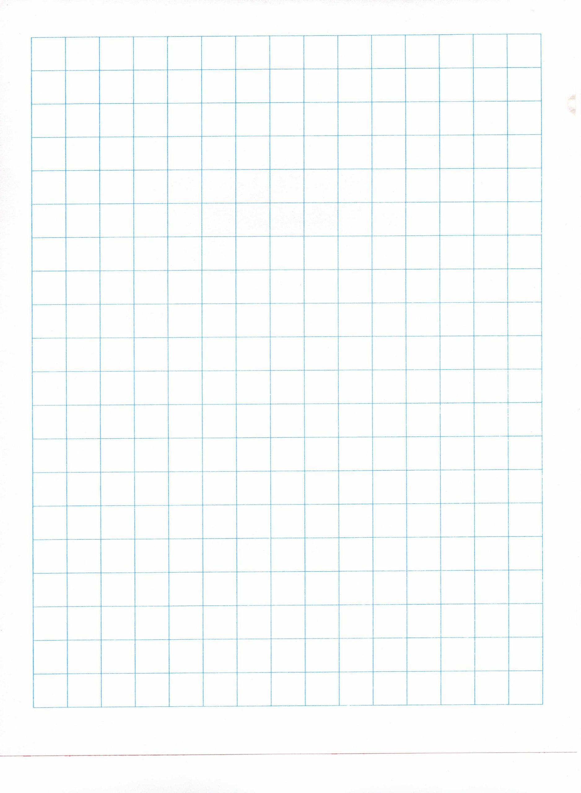 1/2'' Graph Paper Ream