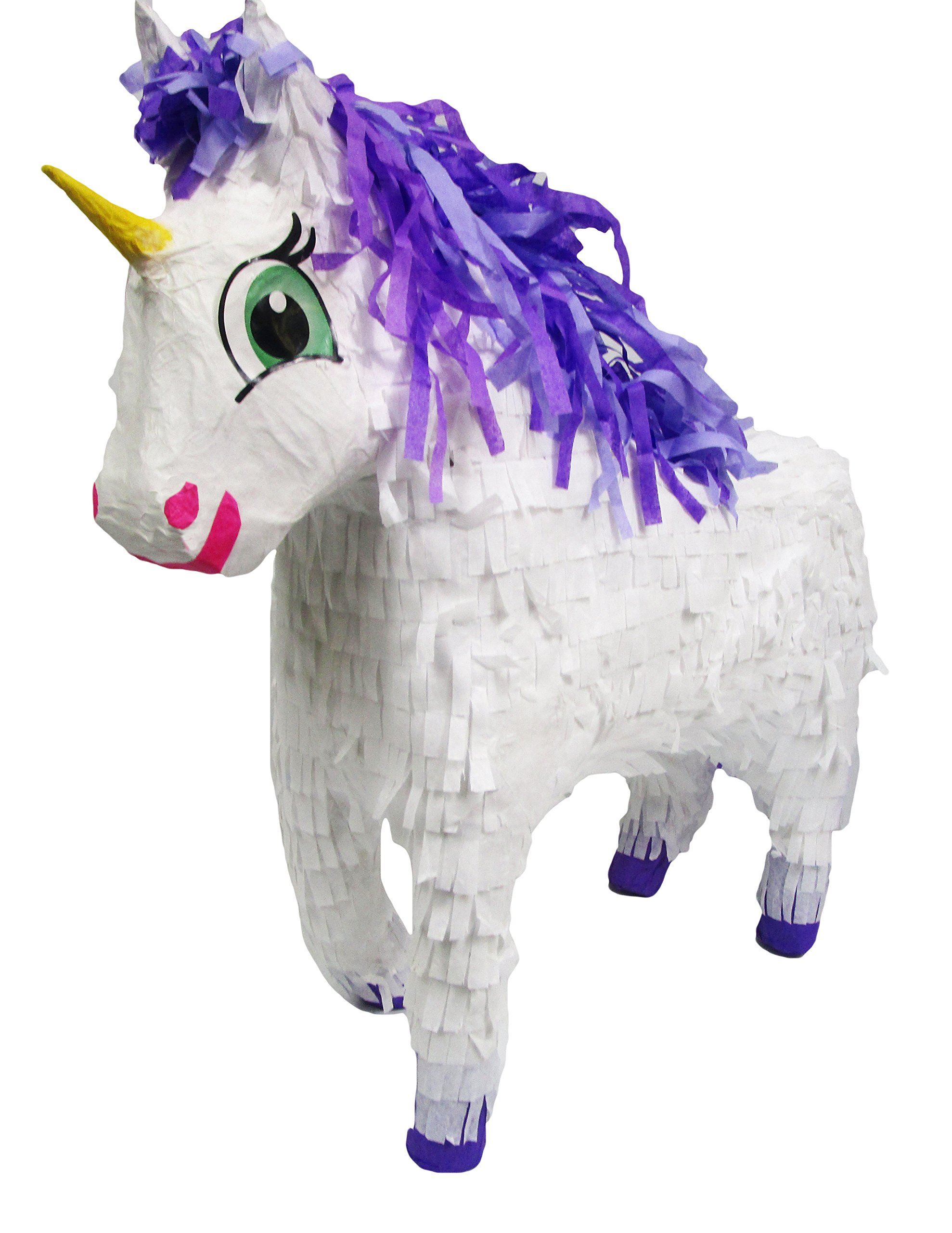 Pinatas Fairytale Unicorn Kit Including, Buster Stick, Bandana, 3 lb Toy and Candy Filler by Pinatas (Image #3)