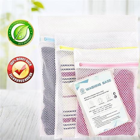 Malla lavadora Bolsa Ropa Interior para Lavadora Bolsa Ropa Delicada Lavadora Bolsas Colada Bolsa Lavar Sujetadores Bolsas para Lavadora Bolsas para ...