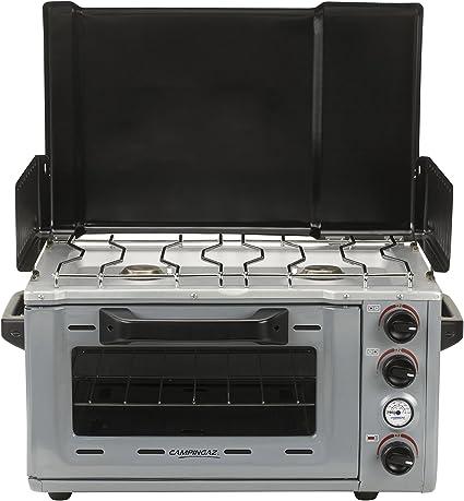 Campingaz Camp Stove Oven - Cocina (Independiente, Negro, Gris, Giratorio, Gas natural, Gas, 69 cm)