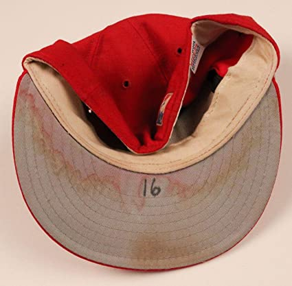 f38117c8741 Image Unavailable. Image not available for. Color  Texas Rangers  16 Game  Used Worn Hat Cap ...
