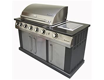 Landmann Gasgrill Welches Gas : Amazon landmann avalon island lp gas grill garden