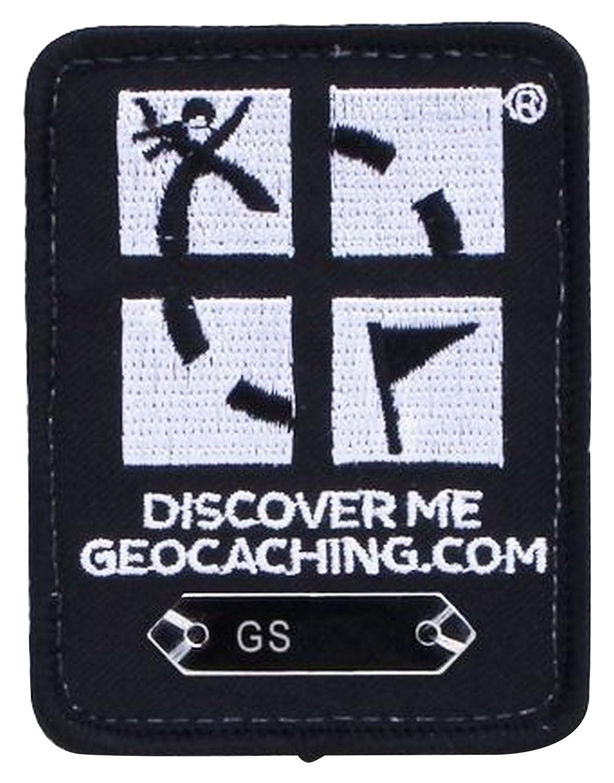 Trackbar 10152 GEO-VERSAND Logo Patch schwarz