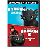 How To Train Your Dragon 1+2 Double Feature Icon (Bilingual) [DVD + Digital Copy]