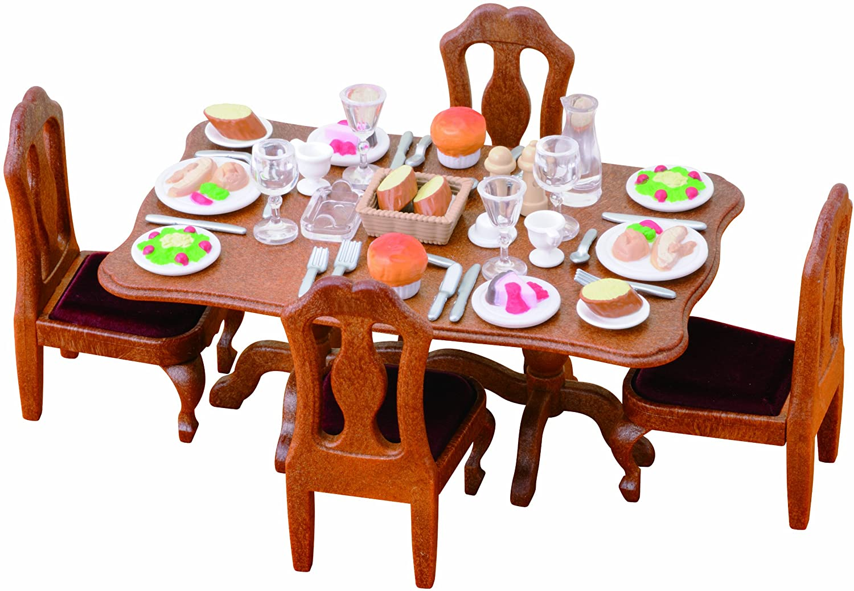 Sylvanian Families Dinner Party Set Amazoncouk Toys Games