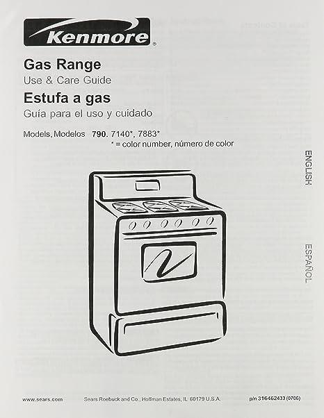 frigidaire 316462433 range stove oven owner manual amazon co uk rh amazon co uk Kenmore Electric Stove Stove Elite Model Kenmore 79046719603