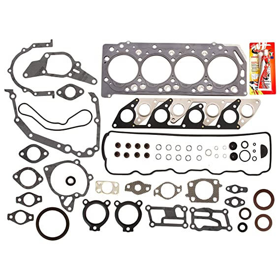Amazon.com: Mitsubishi L200 Montero Pajero 2.5 Turbo diesel 4D56T Full Gasket Set: Automotive