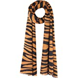 UNDER ZERO UO Women's Winter Fashion Animal Print Scarf