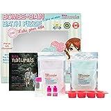 Kiss Naturals: DIY Bath Fizzie Making Kit