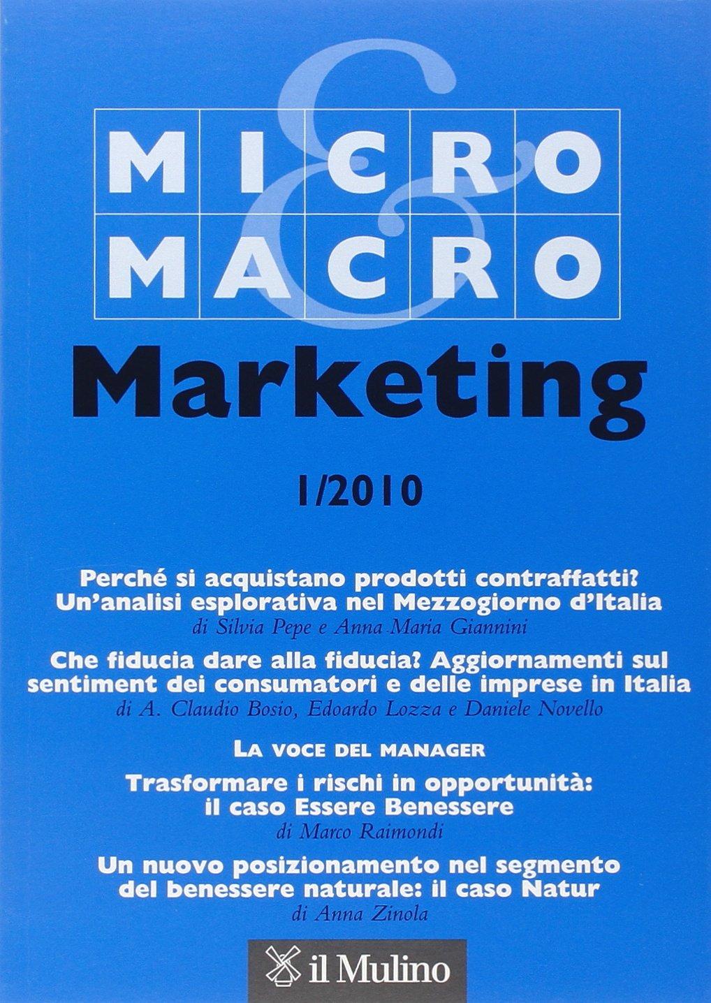 Micro & Macro Marketing (2010): 9788815135292: Amazon com: Books