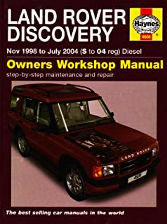 land rover discovery diesel nov 98 jul 04 haynes repair manual rh amazon co uk 2004 land rover discovery 2 owners manual 2004 land rover discovery manual transmission
