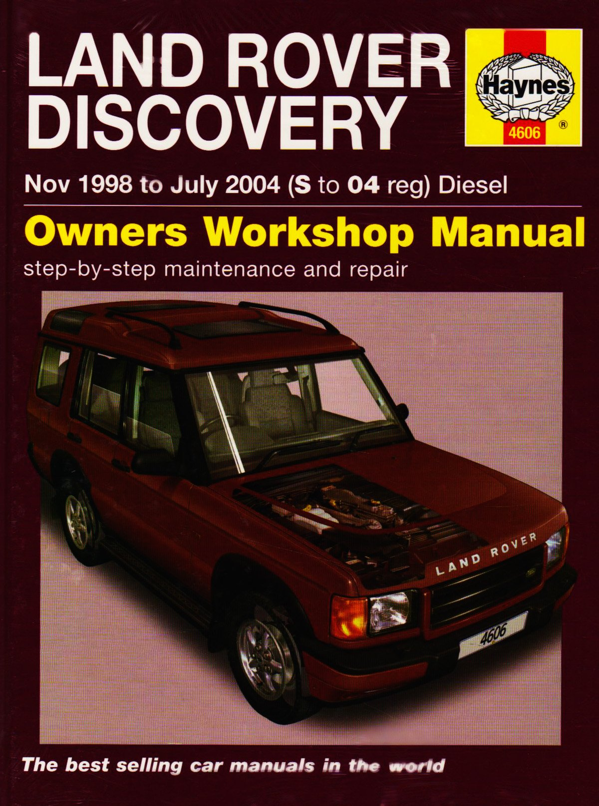 Land Rover Discovery Diesel Service And Repair Manual 1998 To 2004 Parts Diagram Wiring Schematic Haynes Martynn Randall 9781844256068 Books