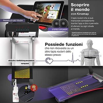 Sportstech Cinta de Correr f17 Consola futurista Easy-Folding ...