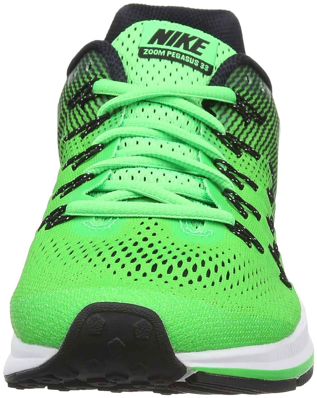 Nike Hombres Air Zoom Negro Verde Blanco Verde Air 33 Pegasus 33 Air Rage 9a8df1