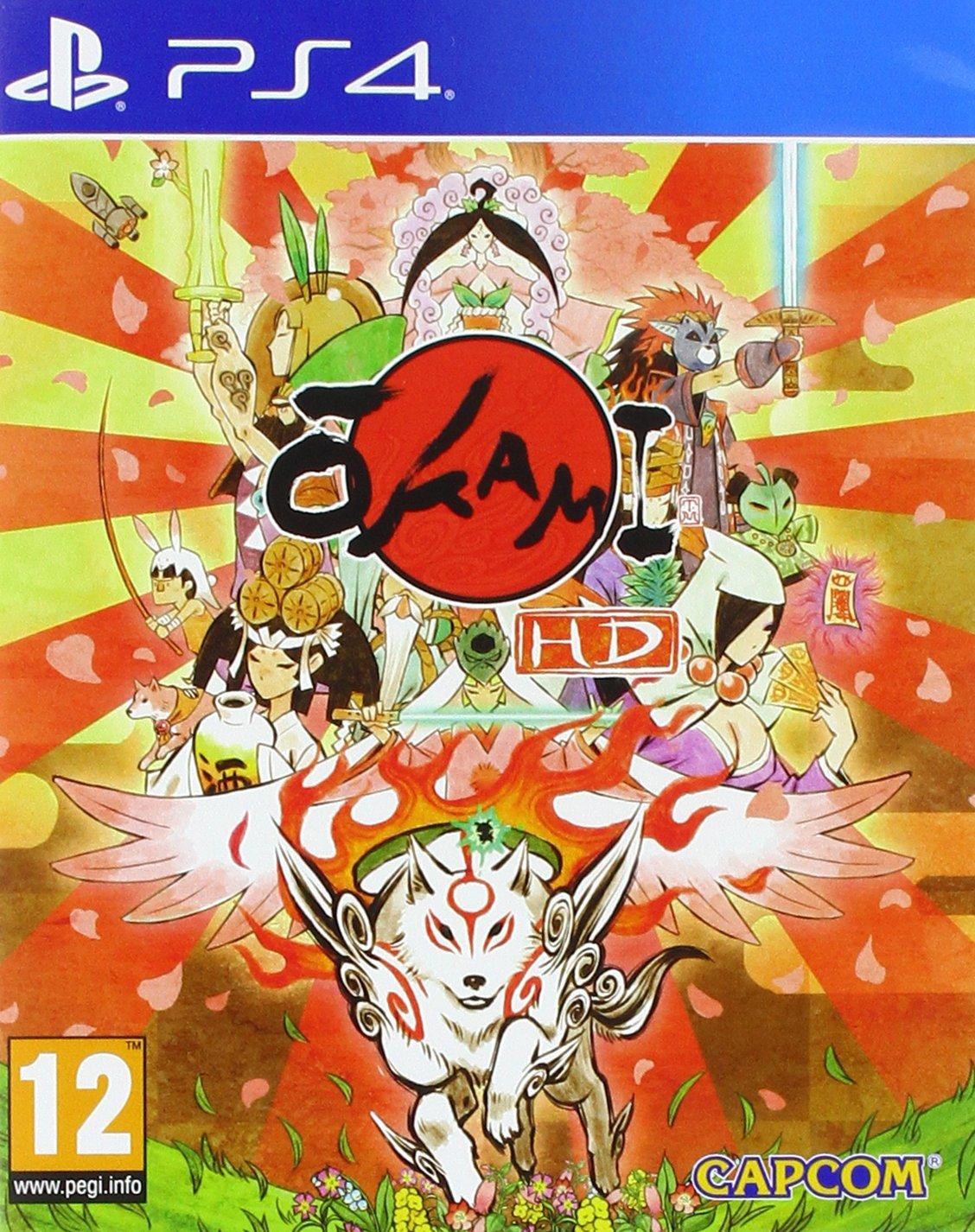 Okami HD - PS4 | Clover Studio. Programmeur