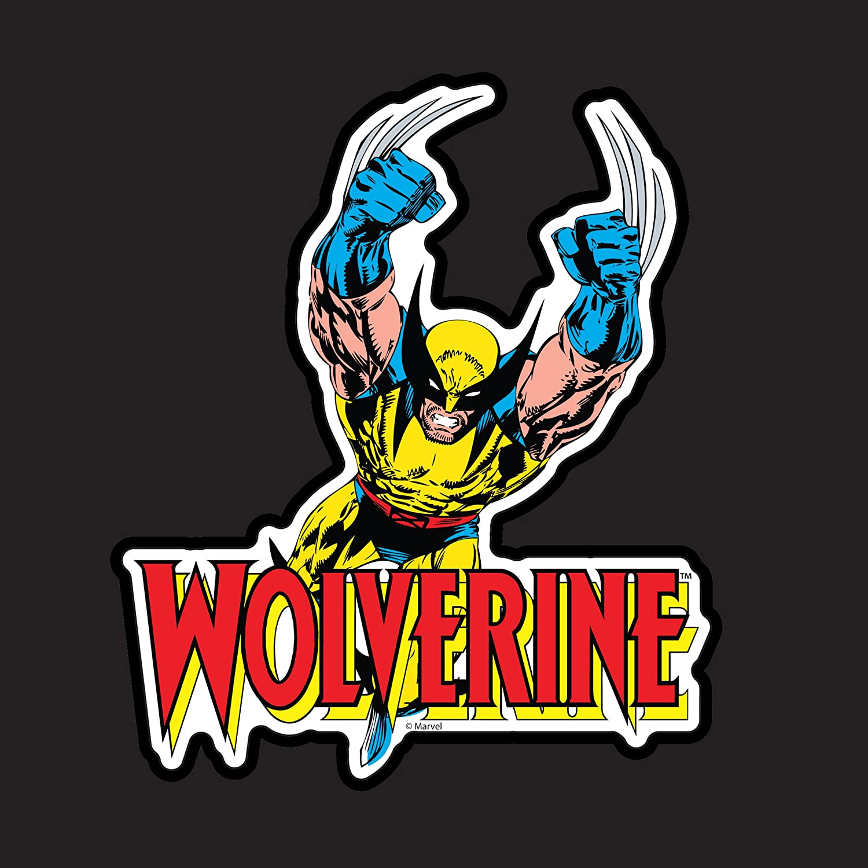 CHROMA 25004 Wolverine Marvel Comic Stick-Onz Decal
