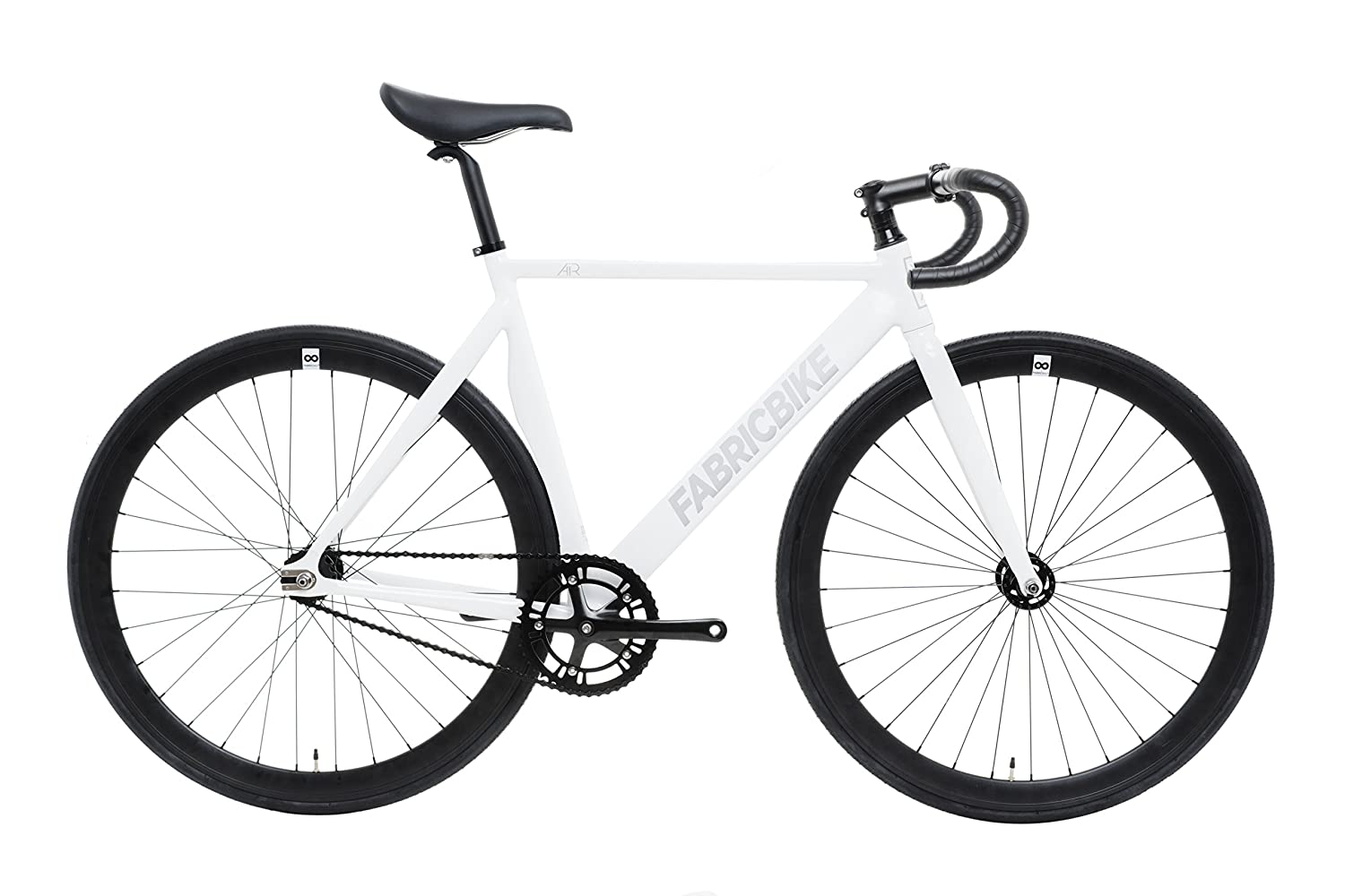 FabricBike Air- Bicicleta fixie, piñon fijo, Fixed Gear, Single Speed Urban Bike (Air White, M-52): Amazon.es: Deportes y aire libre